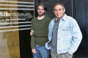 pablo marin and claudio caldini at filmmuseum vienna, michaela grill