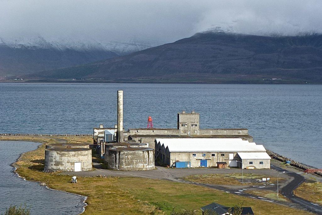 Verksmiðjan in Hjaltery island where my hyalteyri was presented