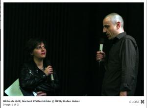 norbert pfaffenbichler and michaela grill at filmmuseum vienna